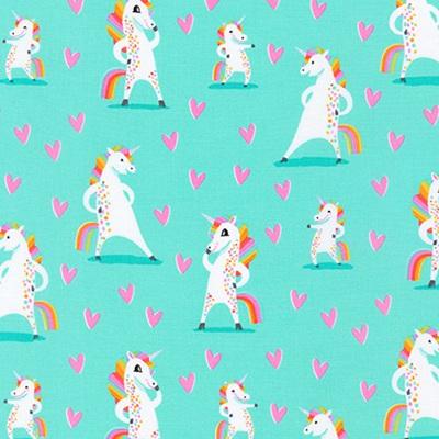 Magical Rainbow Unicorns - Mint