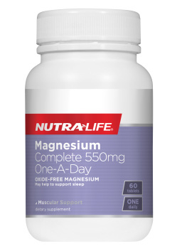 Magnesium Complete 550mg One A Day - 60 Caps