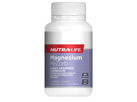 Magnesium Hi-Zorb - 60 Caps