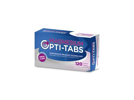 Magnesium Opti-Tabs 120s