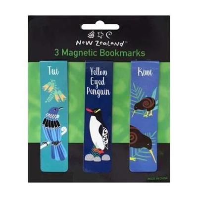 Magnetic Bookmarks - New Zealand Birds