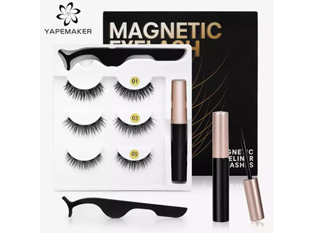 Magnetic Eyelashes 3D Mink Eyeliner Waterproof