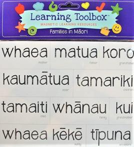 Magnetic Maori Whanau / Family
