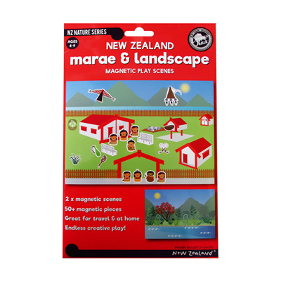 Magnetic Marae and Landscape Play Scene