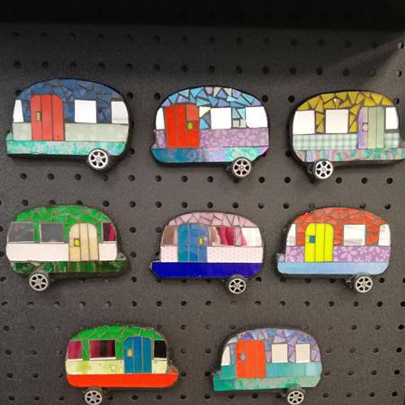 Magnetic Mosaic Caravans