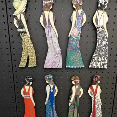 Magnetic Mosaic Fashion Ladies