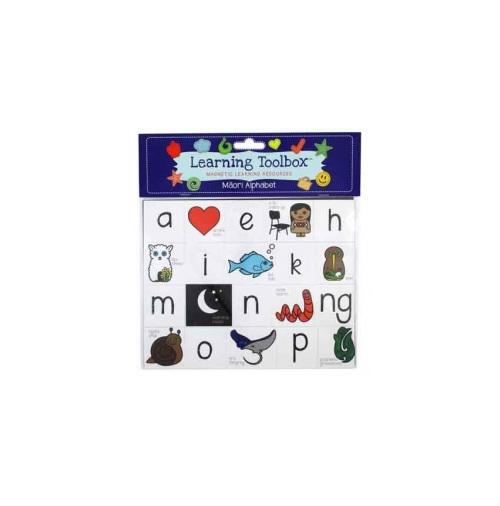 Magnetic NZ Maori Alphabet