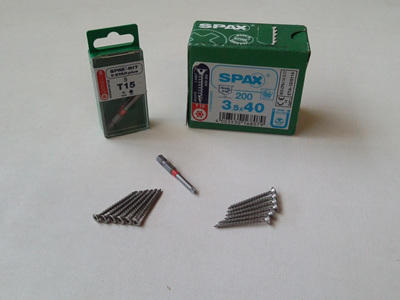 Magnum Board™ Stainless Steel 304 Counter-Sink Screws