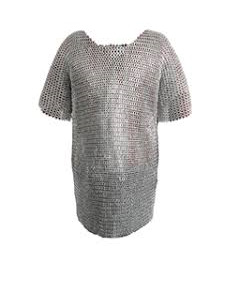 Mail 2A - Maille Haubergeon (Half Sleeves)  6th to 16th Centuries