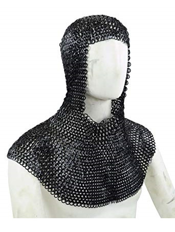 Mail 6  - 12th - 16th Century Maille Coif