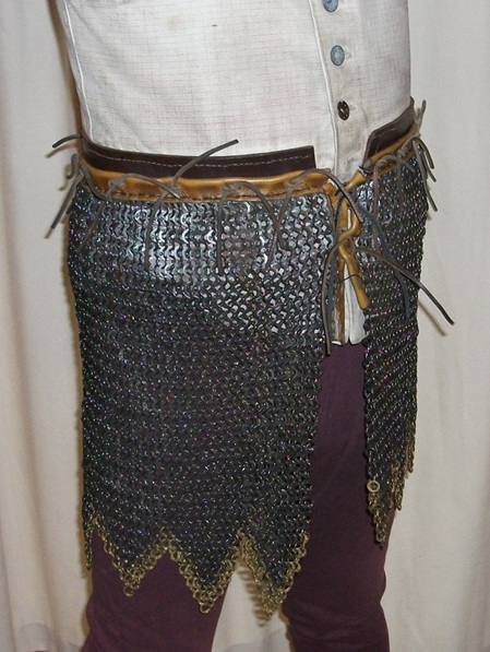Mail 7 - Large Sized 14th - 16th Century Maille Skirt