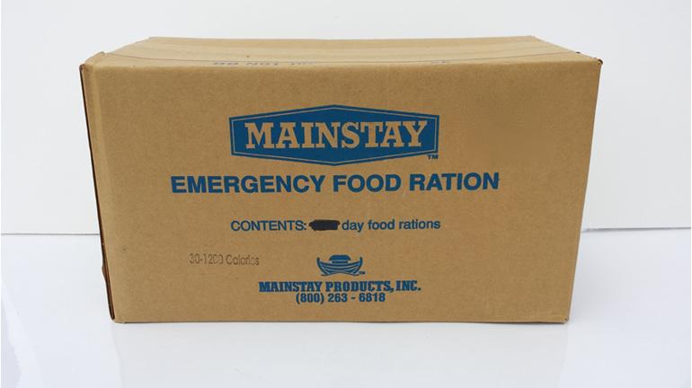 Mainstay 1200 Emergency Food Ration - Bulk carton (30 packs)