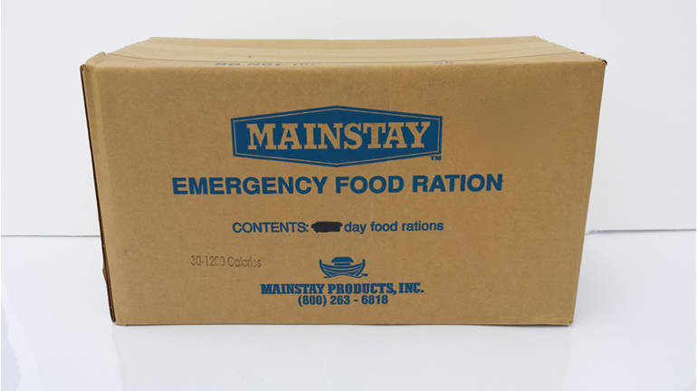 Mainstay 1200 Emergency Food Ration - Bulk carton (30 packs)