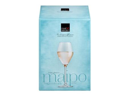 Maipo White Wine Glass Set 4 Piece