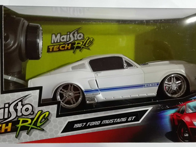 Maisto Tech RC 1/24 1967 Ford Mustang GT