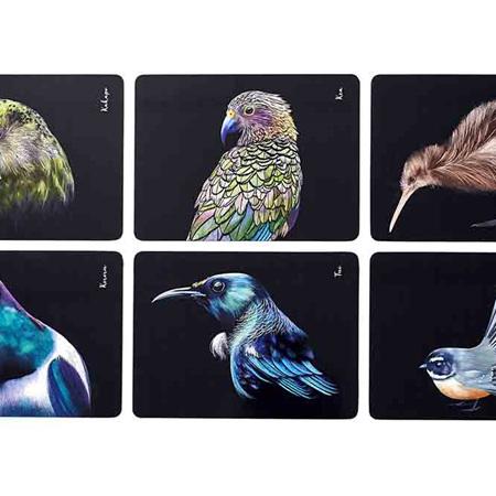 Majestic Birds 6pk Placemats