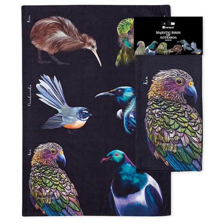 Majestic Birds Kitchen Towels