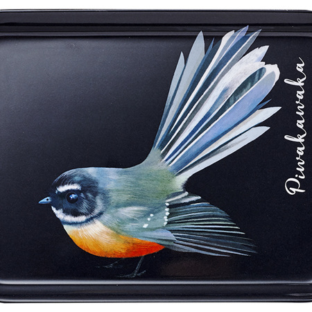 Majestic Birds Piwakawaka Scatter Tray