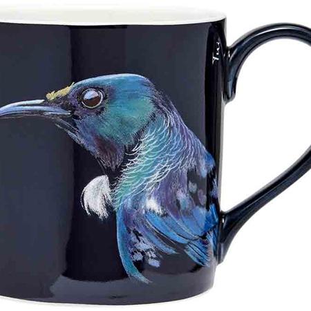Majestic Birds Tui City Mug
