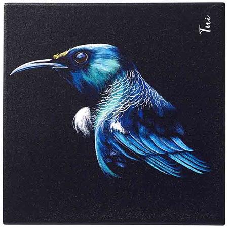 Majestic Birds Tui Trivet