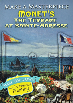 Make A Masterpiece: Monet's The Terrace at Sainte-Adresse