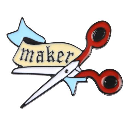 Maker Enamel Pin