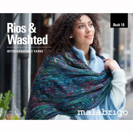 Malabrigo Pattern Books: Rios & Washted Interchangeable Yarns Book 18