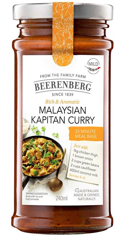 Malaysian Kapitan Curry 30 Minute Meal Base - 240ml