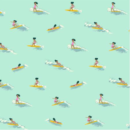 Malibu Tiny Surfer in Seafoam 52146-6
