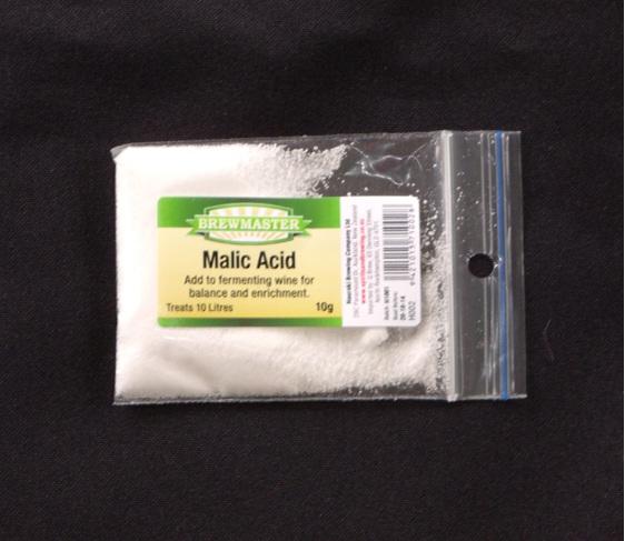 Malic Acid for Home Winemaking