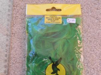 Mallard Flank - Dyed Highlander Green