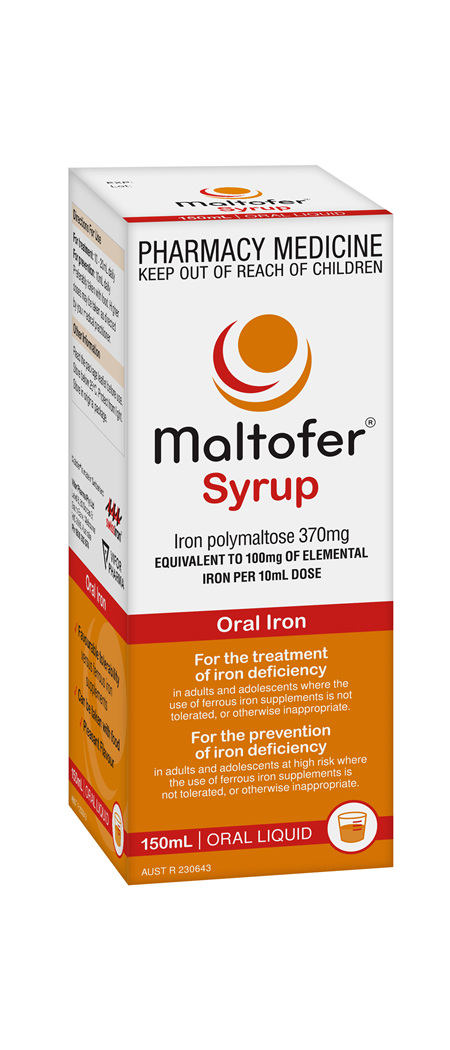 Maltofer 10mg per mL Syrup 150mL