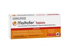 MALTOFER Iron 370mg 30Tab