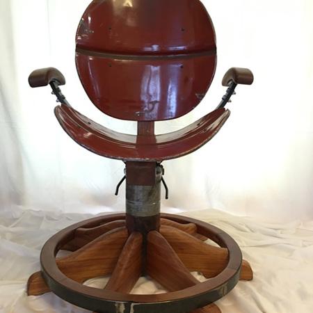 Man Cave Chair - Wagon Wheel