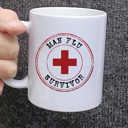 Man Flu Funny Mug