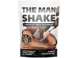 MAN SHAKE CHOCOLATE