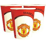 Manchester United Party Cups