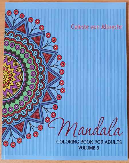 Mandala: Coloring Book for Adults - Volume 3