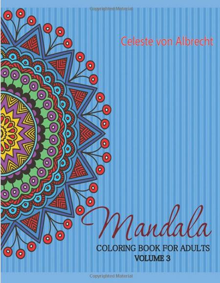 Mandala Coloring Book for Adults - Volume 3