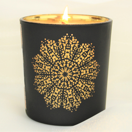 Mandala Jar Candle - Coconut & Lime