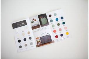Mango Colour Swatch Brochure