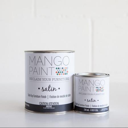 Mango Paint Table Top Finish 'Satin'