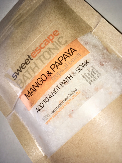 Mango & Papaya Artisan Bath Tonic
