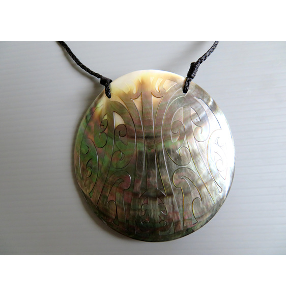 Mangopare Mother of Pearl Shell Pendant