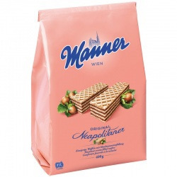Manner Original Neapolitan Wafers Bag