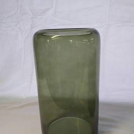 Mantua Khaki Glass Vase large G3745