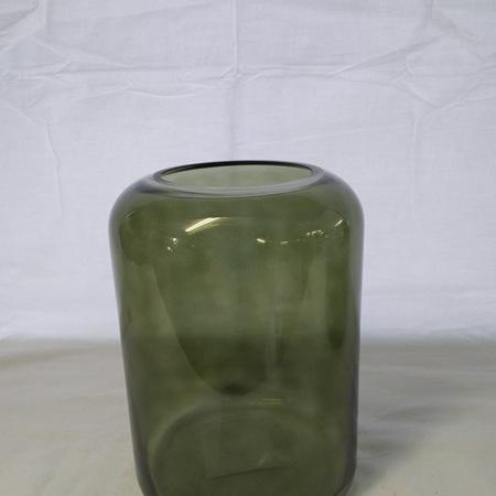 Mantua Khaki Glass Vase medium G3746