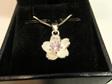 Manuka flower pendant