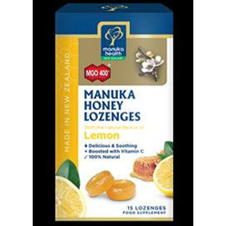 Manuka Health Manuka Honey Lozenges - Lemon