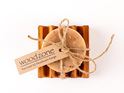 Manuka Honey and Milk Soap on Small Dish